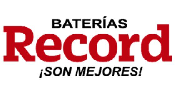 Baterías para autos Baterias Record