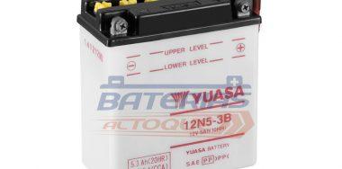 BATERIA YUASA 12N5-3B