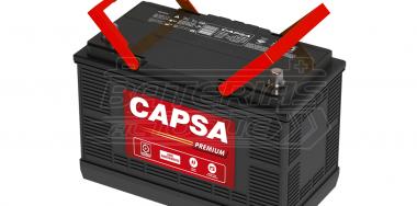 Batería para auto CAPSA 30H 1600 (1731P)